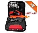 PR Power Bank Charger Portable 16800mAh Vehicle Car Jump Starter Booster Battery Portable
