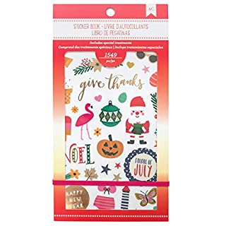 American Crafts Sticker Books