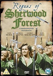 Rogues of Sherwood Forest (Region 2 - PAL DVD) by John Derek