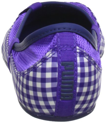 Puma Elsie Gingham 354799 Damen Ballerinas Violett (liberty blue 03) MM746ya
