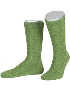 Trachtensocken zur Lederhose in apfelgrün von Lusana