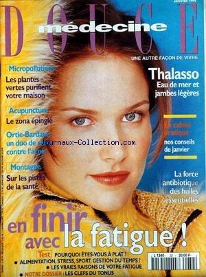 MEDECINE DOUCE [No 33] du 01/02/1995