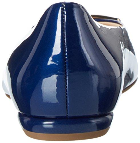 Högl Damen 3-10 1085 3200 Geschlossene Ballerinas Blau (Blue3200)