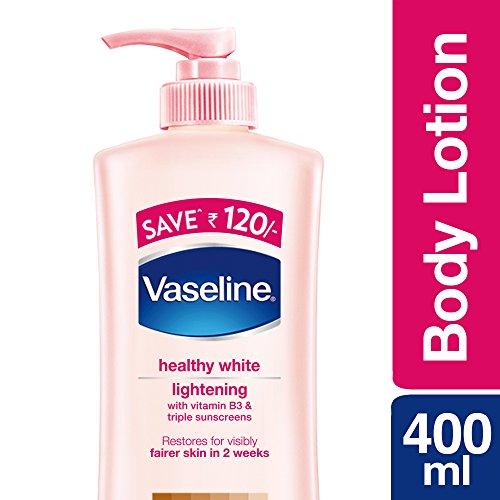 Vaseline Healthy White Lightening Visible Fairness Body Lotion, 400ml