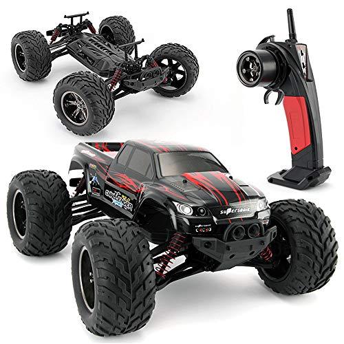 ZMH RC Auto 2.4 G 1:10 1/15 Scale Rennwagen Supersonic Monster Truck Off-Road Vehicle Buggy Elektronisches Spielzeug Für Das Alter 5 6 7 8 9 Jungen Kinder,Red (Rc Trucks Für Verkauf)