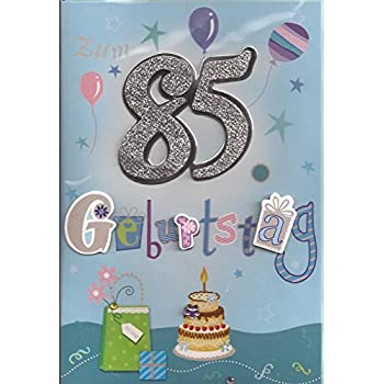 85 Geburtstag Spiele