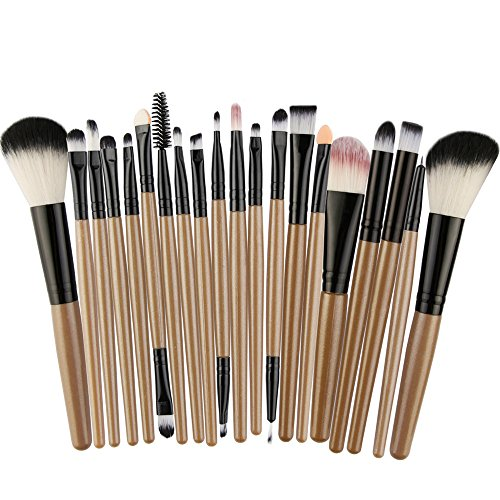 Daysing Make Up Pinsel Set 22 Stücke professionelles Kosmetikpinsel Pinselset Schminkpinsel lidschattenpinsel augen und wangen pinsel beauty tools