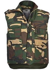 Ejército de los E.E.U.U. Chaleco acolchado woodland S- XXL - Medium