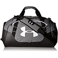 Under Armour Unisex Undeniable 3.0 Borsone, Grigio (Graphite/White), 28 x 56 x 25 cm