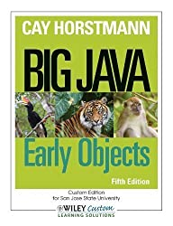 Big Java: Early Objects by Horstmann, Cay S. (2013) Paperback