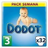 Dodot - Pañales para niños de 4-10 kg, talla 3 - 32 Pañales