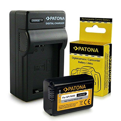 Caricabatteria + Batteria NP-FW50 per Sony NEX-3   NEX-3A   NEX-3D   NEX-3K   NEX-5   NEX-5A   NEX-5D   NEX-5H   NEX-5K   NEX-6   NEX-7   Sony Alpha: 33 (SLT-A33)   37 (SLT-A37)   55 (SLT-A55)