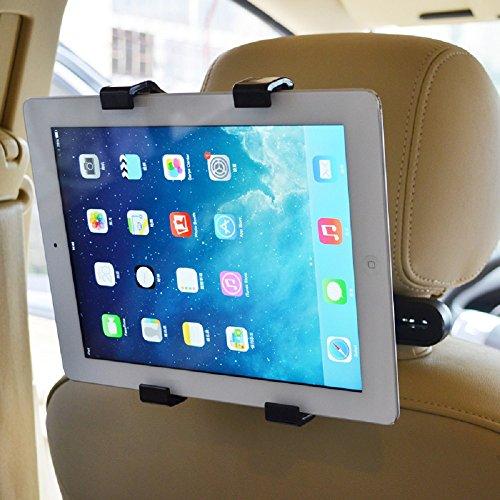 Audew Supporto Tablet Auto Poggiatesta Regolabile il 7 Pollice a 11 Pollice PC Tablet Per iPad Mini/2/3/4, iPad Air, iPad Pro, Samsung Galaxy Tab, Tab Pro, Google Nexus e altri