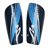 Fengh blau Fußball Embedded schutzausrüstungen für Erwachsene Sport Bein Shield Teller (blau)