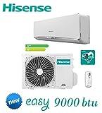 Condizionatore/Climatizzatore INVERTER 9000 BTU HISENSE New Easy Smart 2017 - TE25YD02