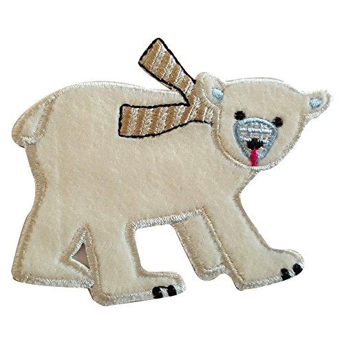 2-ecussons-patch-appliques-ours-blanc-9x7cm-fraise-7x7cm-thermocollant-brode-broderie-pour-vetement-