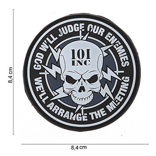 Sewing Crafts Emblem 3d Rubber Patch When I Die 5 X 10 Cm Klett Abzeichen Aufnäher Diversified In Packaging