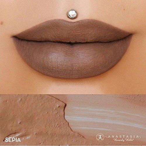Anastasia Beverly Hills–Liquid Lipstick–Sepia (Anastasia Beverly Hills Lippenstift)