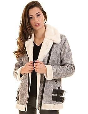 Abrigo corto piel sintética GBUCKL de Morgan de Toi