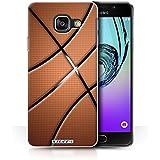 Coque de Stuff4 / Coque pour Samsung Galaxy A3 (2016) / Basket-ball Design / Balle Sportif Collection