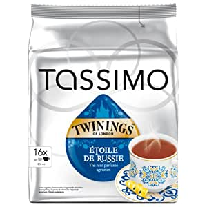 tassimo twinings toile de russie th noir 16 t discs informatique. Black Bedroom Furniture Sets. Home Design Ideas