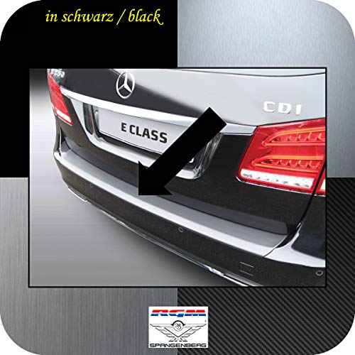 Preisvergleich Produktbild Richard Grant Mouldings Ltd. Original RGM Ladekantenschutz schwarz für Mercedes Benz E-Klasse T-Model S212 Kombi (S 212) T-Modell ab Facelift Baujahre 04.2013-09.2016 Aber Nicht Modelle AMG RBP609