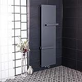 Wärmehaus Designer Handtuchheizkörper Badheizkörper 1725x528mm Grau