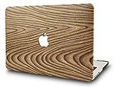 StarStruck Coque Rigide MacBook Air 13 pouces A1369 / A1466 pour MacBook Air 13.3 (Bois de Pin 1)