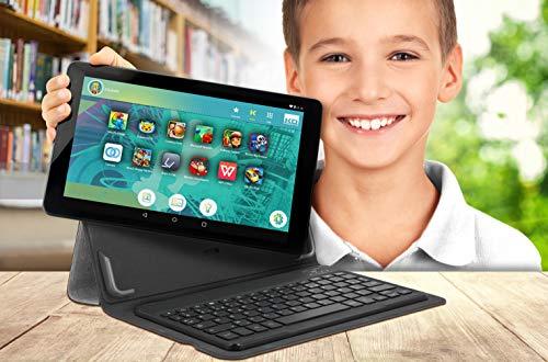 Kurio Smart 10-Inch Tablet - (Black) (AMD A8 8127 Processor, 1 GB RAM, 16 GB HDD, Android 8.0 (GO))