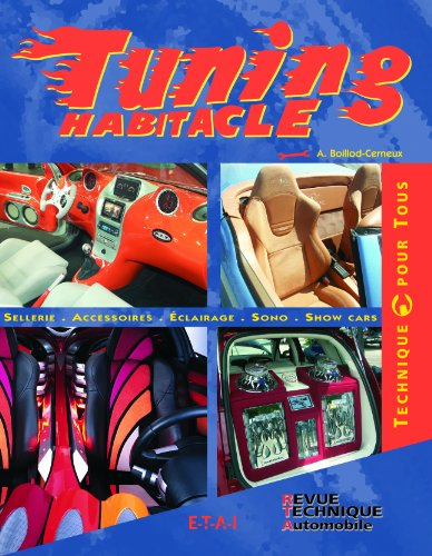 Tuning habitacle : Sellerie, Accessoires, Eclairage, Sono, Show Cars