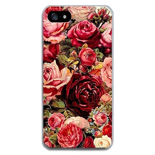 DZXUS Telefon-Kasten für iPhone 7 Blumen-Kasten Minnie Karikatur-rückseitige Abdeckung für iPhone 7 6 6S 8 Plus X weicher Silikon-Kasten verlässt Banane Coque, Azzurro di Cielo, für iPhone 6 6S (Iphone 6 Minnie-telefon-kasten)