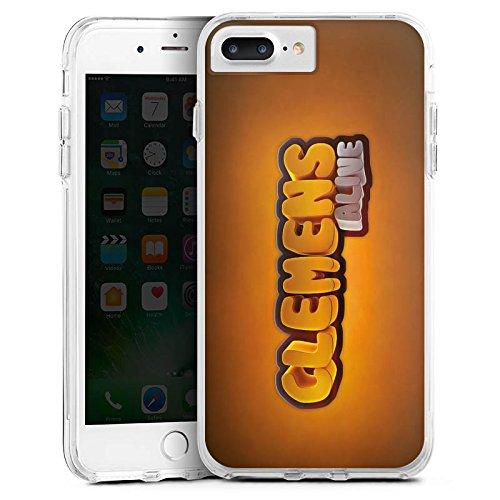Apple iPhone X Silikon Hülle Case Schutzhülle Clemens Alive Fanartikel Merchandise Youtuber Bumper Case transparent