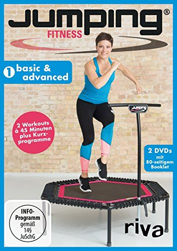 Preisvergleich Produktbild Jumping Fitness 1: basic & advanced, 2 DVDs