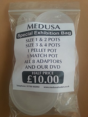 Medusa pole fishing FULL SYSTEM pole/pellet pots cups + FREE DVD