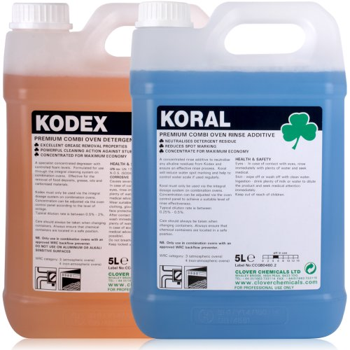 kodex-combi-oven-cleaner-koral-combi-oven-rinse-additive-5-litres-of-each-comes-with-tch-anti-bacter