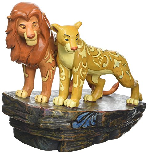 ENESCO Disney Tradition Love At Pride Rock (Simba & Nala Figur)