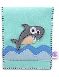 Felt Fetish Sanitary Napkin Pad Pouch Holder - Shark