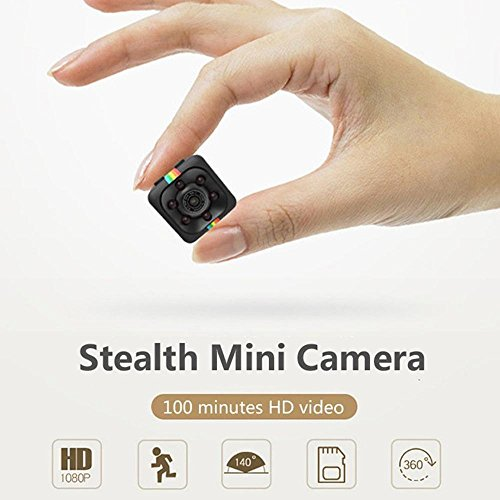Pawaca Mini Camera HD SQ11 Microcamere Spia per visione notturna 1080P Sport Mini DV Videoregistratore Telecamera per auto a infrarossi Rilevatore di movimento - 4