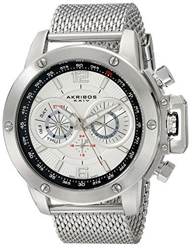 Akribos XXIV AK515SSW - Reloj para hombres