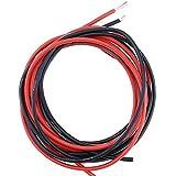 Fil électrique souple et flexible à isolation en silicone, résistant aux températures élevées - Torons en cuivre - 10AWG 12