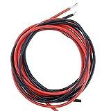 Silikon-Draht Kabel mit hohen Temperaturen resistent, weich und flexibel, Rot, Schwarz, Kupfer-10AWG, 12AWG, 14AWG, 16AWG, 18AWG AWG 22AWG