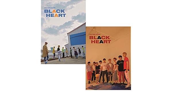 BLACK HEART UNB 2nd Mini Album 2 Ver SET 2CD+2ea PhotoBook+4p PhotoCard SEALED