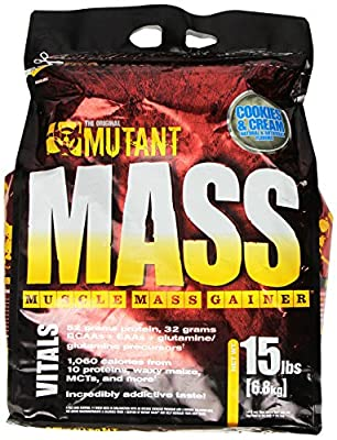 PVL Mutant Mass 6800 g Weight Gain Shake Powder from Fit Foods
