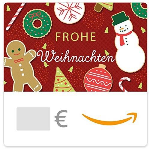 Digitaler Amazon.de Gutschein (Weihnachtliche Süßigkeiten)