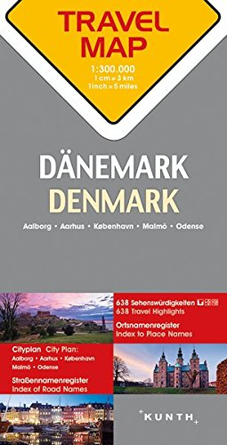 Descargar Libro Carte de voyage Danemark 1 : 300 000 de Collectif