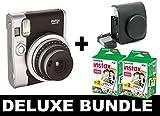Fujifilm Instax Mini 90Neo-Schwarz + 40Shots + Vintage Schwarz Fall