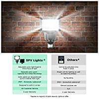 80 SMD LED Solar Powered Security Light - Waterproof and comes with Built-in PIR Motion and Night Sensor - Lamp for Outdoor, Garden, Fence, Patio, Yard, Walkway, Driveway, Stairs, Outside, Wall, Garage, Shed, Path by SPV Lights: The Solar Lights & Solar L
