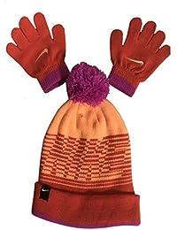 Nike Knit Beanie y Guantes Set para niña de tamaño ... bdfd0e21a79