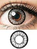 Swiftt Farblinsen Farbige Kontaktlinsen Ohne Stärke Jahreslinsen für Cosplay, Anime & Manga Big Eyes(Einzelstück)