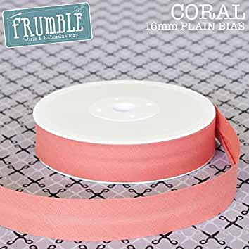 5m Baby Pink Polka Lace Edge Bias Binding Edge Trimming Bright Colours
